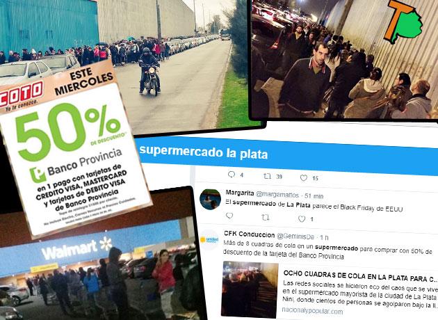 """Se cortó la promoción del Banco Provincia en supermercados: no hay más """"Súper Miércoles"""""""