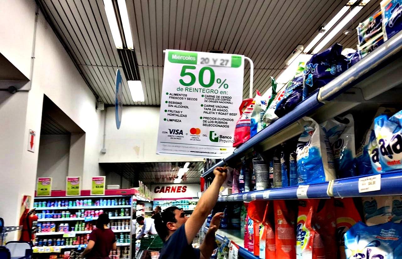 """Se acabó la promoción del Banco Provincia en supermercados: en noviembre no habrá """"Súper Miércoles"""""""
