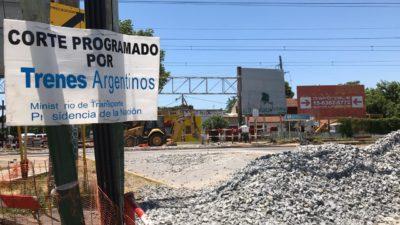 Cascallares reclamó ante Trenes Argentinos por una obra que viene muy atrasada