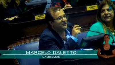 """¡Para alquilar balcones! Daletto se liberó """"el gobierno de Cambiemos Fracasó"""" y acusó a Vidal de """"detestar a Monzó"""""""