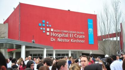 """Según un ranking internacional, el """"El Cruce"""" de Florencio Varela es el mejor hospital público del país"""