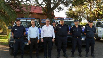 Por gestiones de Martínez, Pergamino recibió nuevos patrulleros y motos policiales