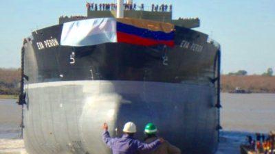 Maduro anunció que Venezuela financiará la terminación de los barcos petroleros encargados al Astillero Río Santiago