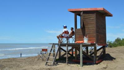 ¿Vamos al agua? en los balnearios de La Costa ya están los guardavidas