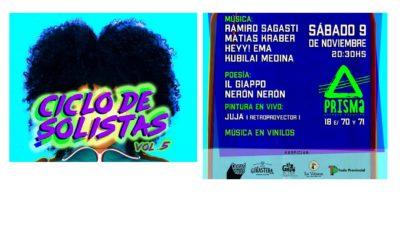 Se viene la 5ta edición del Ciclo de Solistas en la Ciudad de La Plata