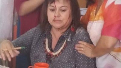 Se cayó un pedazo de techo sobre la cabeza de una docente en una escuela de Varela