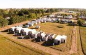 Hipólito Yrigoyen avanza con la construcción de viviendas sociales