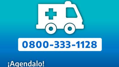 IOMA lanzó un nuevo número telefónico para el servicio de ambulancias
