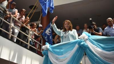Pte Perón: Blanca Cantero puso en funciones su nuevo gabiente