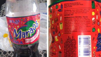 """Retiran del mercado lotes de gaseosa Manaos con """"sabor químico"""" que causa """"náuseas, vómitos y diarrea"""""""