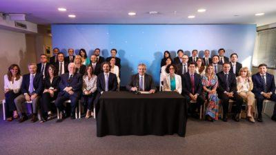Este es el Gabinete de Alberto Fernández: todos los nombres y un breve perfil de cada ministro