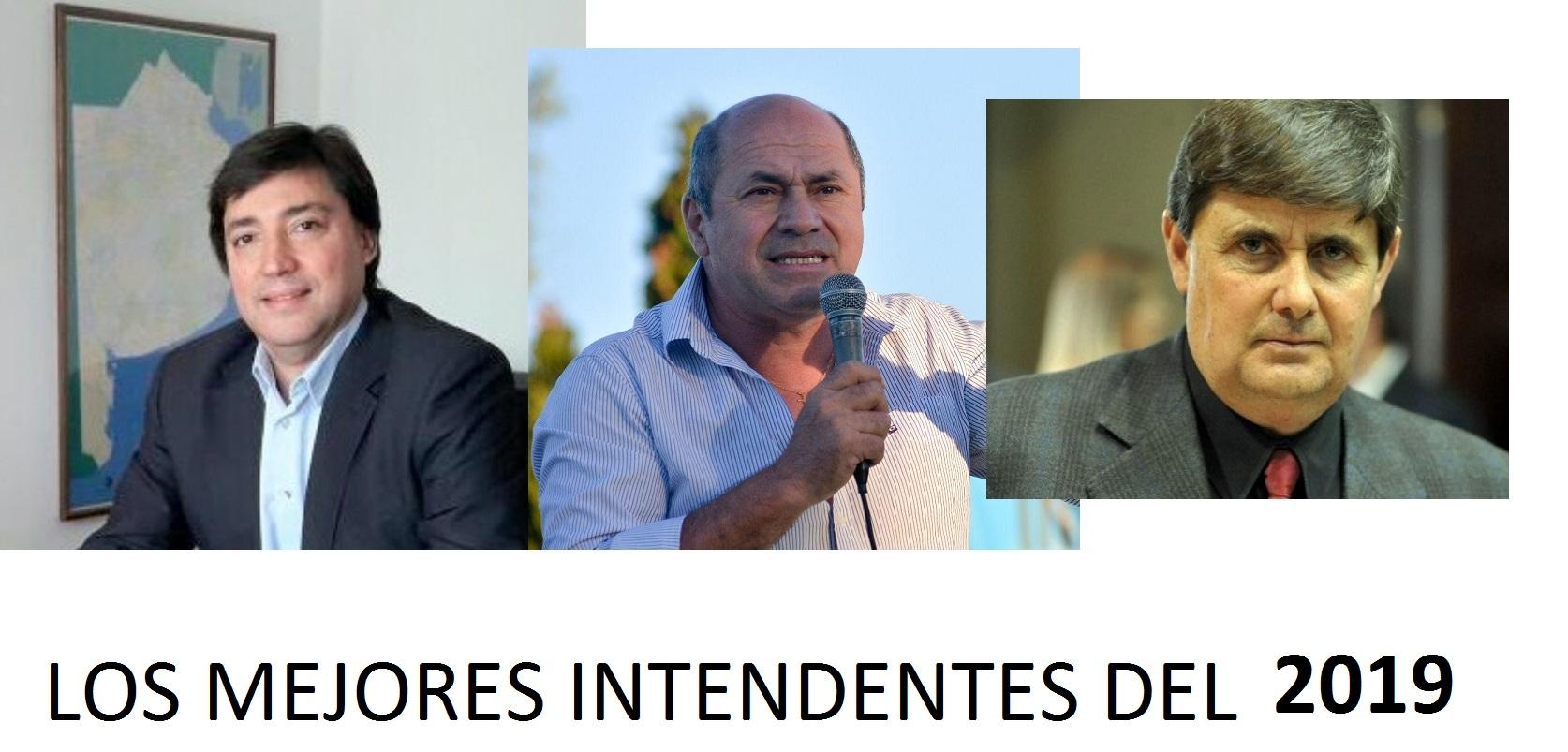 Acerbo, Secco y Gargaglione con la mejor imagen positiva y de gestión 2018-2019