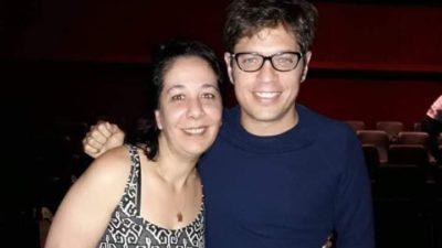 Axel Kicillof fue a ver Star Wars a un cine de La Plata y se sacó fotos con todes