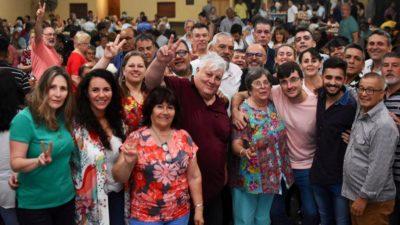Dirigentes moronistas del Frente de Todos cerraron el año junto a la militancia