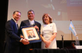 La Universidad de Lanús le otorgó el Doctor Honoris Causa al ex presidente de Ecuador, Rafael Correa
