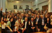 """Al grito de """"Salud es ministerio"""", recibieron con aplausos y elogios lo trabajadores a Gines González García"""