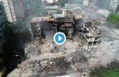 Mar del Plata tuvo uno de los peores incendios de su historia: derrumbes y edificios destruidos en el centro de la ciudad