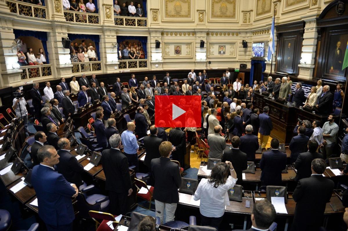 Video: los legisladores e intendentes bonaerenses electos recibieron sus diplomas