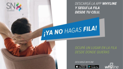 En San Nicolás, los vecinos se ahorraron unas 80 mil horas de cola gracias a una novedosa app