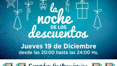 """Se viene la """"Noche de los descuentos"""" 2019 en los centros comerciales de La Plata"""