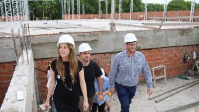 Agustina Vila visitó la UNPAZ y apoyó la construcción de la Facultad de Medicina