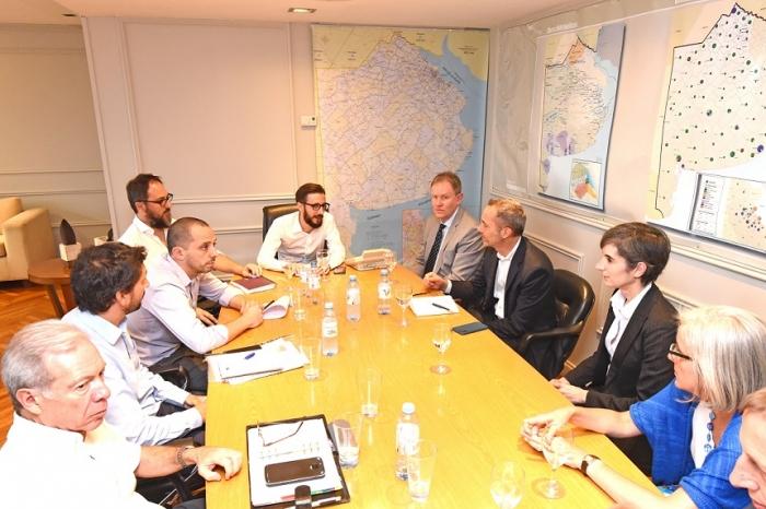 El ministro de infraestructura se reunió con enviados del Banco Mundial en busca de financiamiento para el desarrollo energético