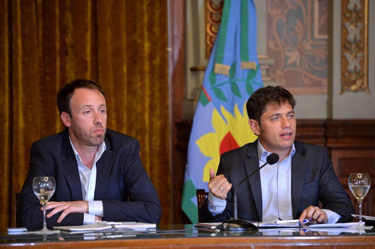 """Kicillof recordó el fuerte endeudamiento del gobierno de Vidal y expresó """"trabajamos para evitar el default"""""""