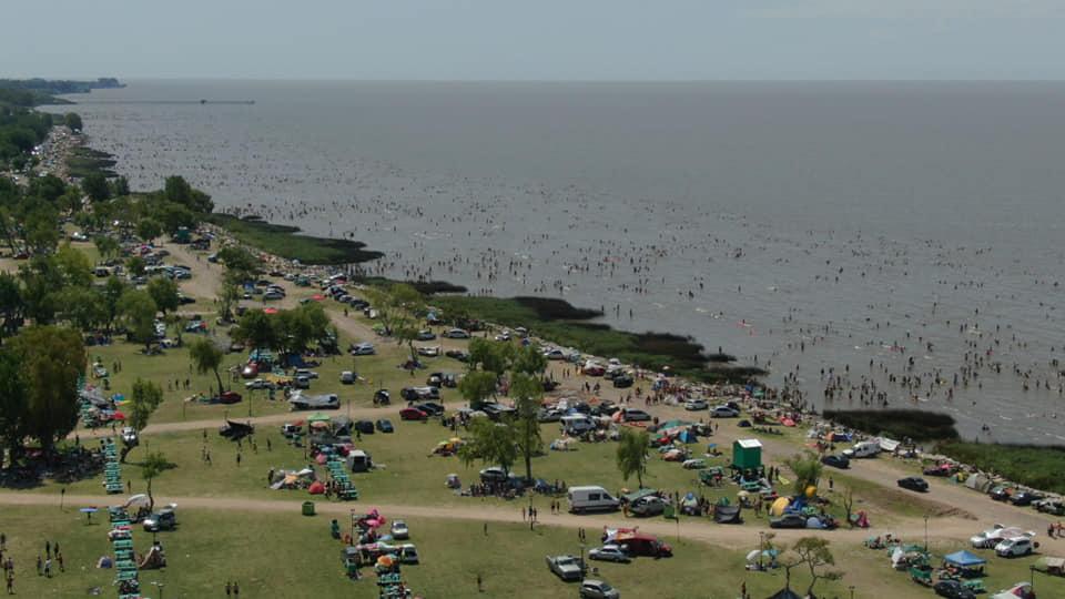 Las playas de Punta Lara un éxito del verano