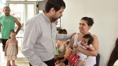 San Martín: El nuevo intendente, Fernando Moreira pone el foco de su gestión en la salud