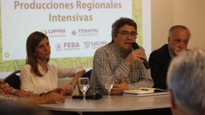 Rodríguez y Raverta apuestan a impulsar las producciones intensivas para generar empleo