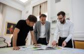 Kicillof, Katopodis y Simone diseñan un plan articulado de obras entre la Nación y la Provincia