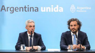Meoni y Cafiero anunciaron que en Provincia y Ciudad se congelarán por 120 días las tarifas del transporte público