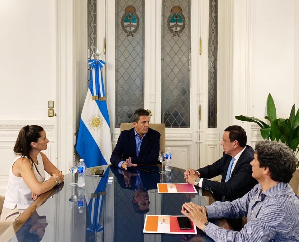 Cáffaro y Moran recibieron le apoyo de Massa para lograr la creación de la Universidad Nacional de Zárate