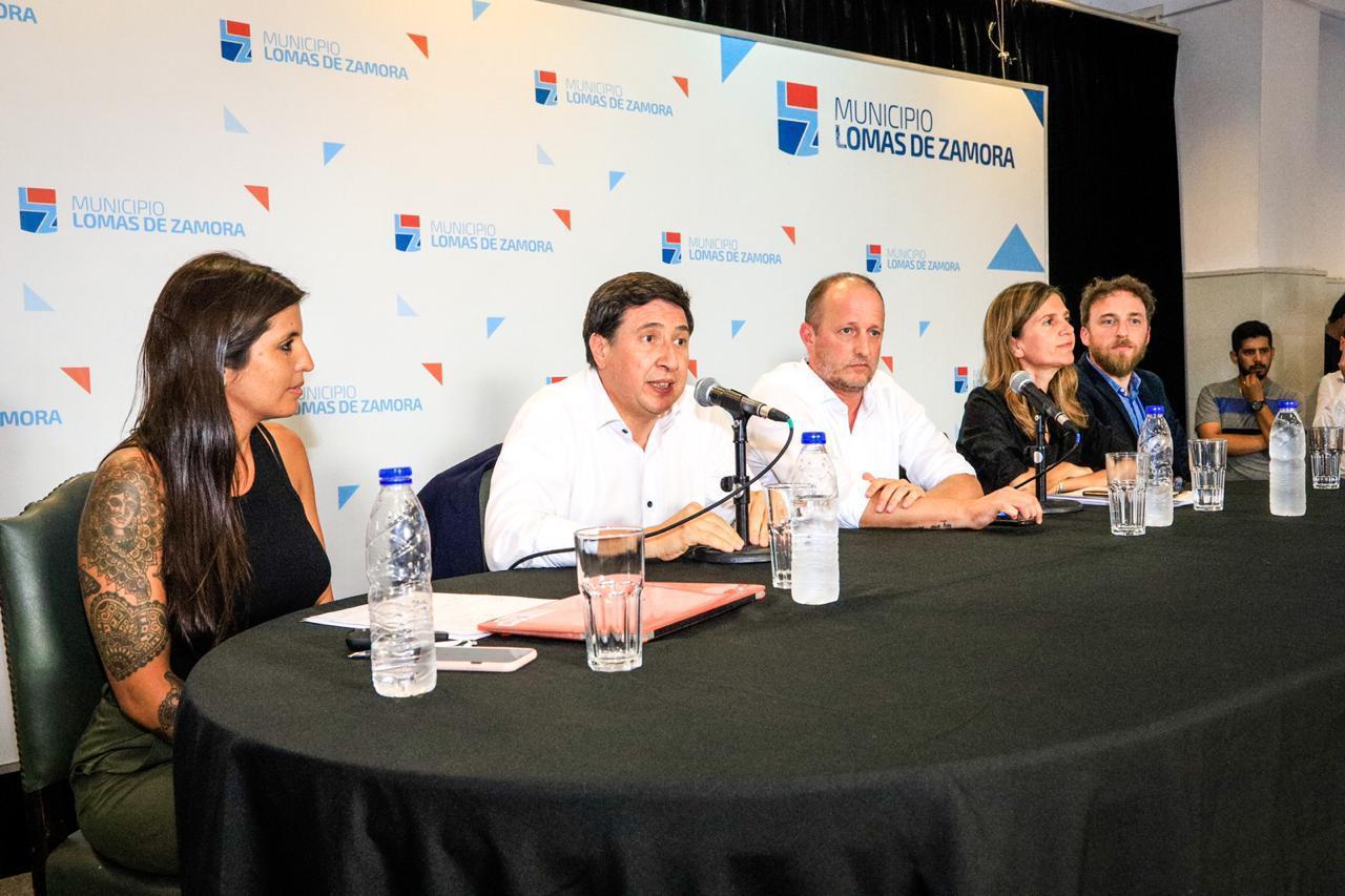 Martín Insaurralde y Daniela Vilar presidirán el Consejo de Lomas de Zamora y Argentina contra el Hambre