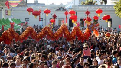 En La Plata se hará el festejo del Año Nuevo Chino más grande del país