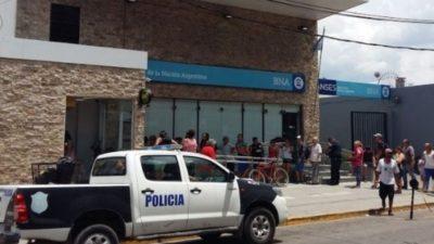 """Berni sobre el crimen en el Banco Nación: """"No había ningún policía armado por una disposición que firmó Sturzenegger"""""""