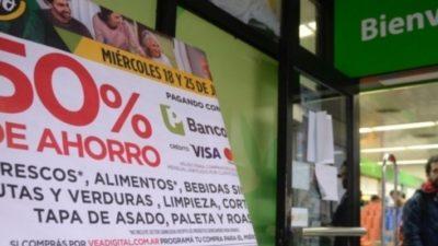 """El presidente del Banco Provincia enterró los descuentos al 50% en supermercados: """"Nunca una entidad hizo algo así"""""""
