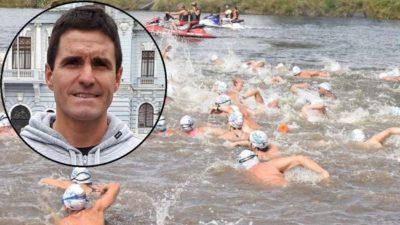 Desapareció un nadador en plena competencia en el RíoMar 2020 que se desarrolló en Quequén-Necochea