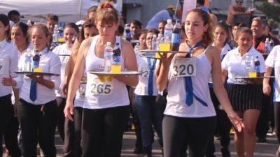 Se viene la gran Carrera de Mozos y Camareras en San Bernardo