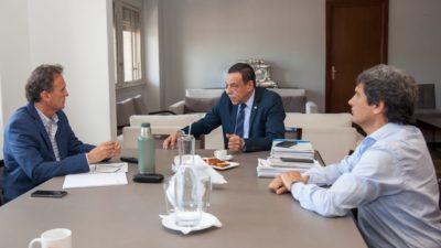 Zárate / Cáffaro gestionó ante el ministro de obras públicas, Gabriel Katopodis quien prometió visitar pronto el distrito