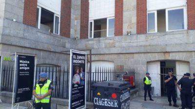 Un actor se pegó un tiro en el Teatro Auditorium de Mar del Plata y cayó desde un cuarto piso