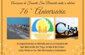 La localidad balnearia de San Bernardo festeja su 76º aniversario frente al mar