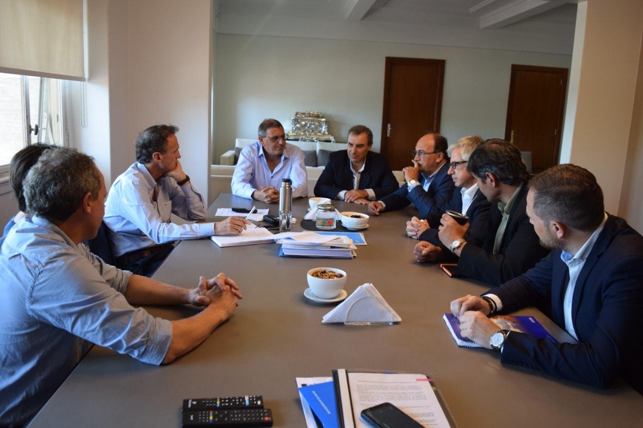 Saladillo/ El diputado Abarca y el intendente Salomón gestionaron ante Katopodis la obra de la planta depuradora de residuos cloacales