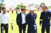 Kicillof visitó junto a los Bulgheroni la ampliación de la refinería Axion en Campana