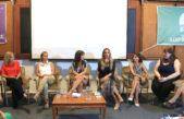 Galmarini y Padulo en el primer Encuentro de Mujeres del sindicato de Trenes Argentinos