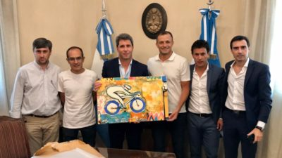 ¿Armando para Tinelli? Bucca, Pisano y Pugnaloni visitaron al gobernador Uñac en San Juan