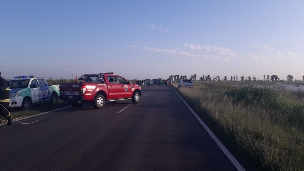 """""""La ruta 33 se está llevando vidas"""", dijo el intendente de Villegas luego de la muerte de una docente y su hija"""