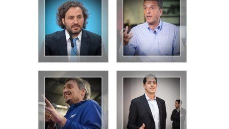 Las cuatro patas de Alberto: Máximo, Sergio, Wado y Santiago