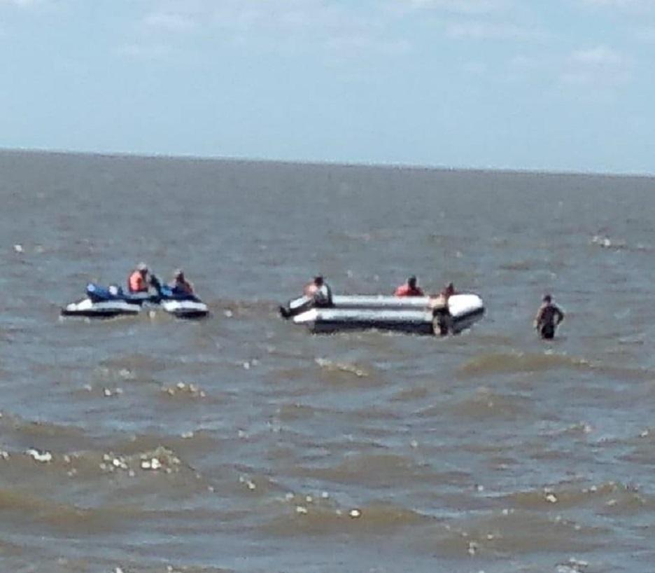 Punta Lara: anoche se metió en el Río de la Plata y hoy encontraron su cuerpo flotando