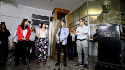 """El Instituto Biológico """"Tomás Perón"""" duplicó la producción del alcohol en gel y hará diagnósticos de coronavirus"""
